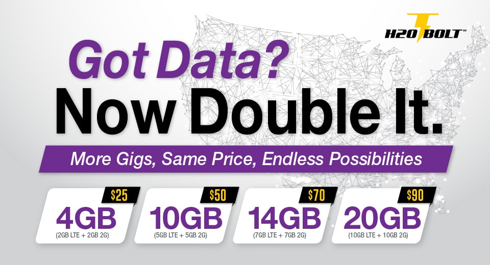 Got Data? Now Double It