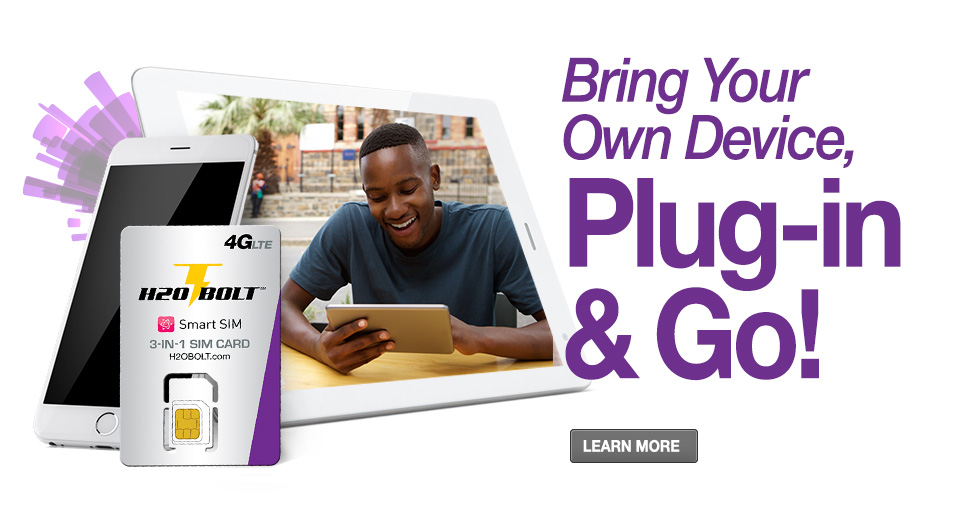 Bring Your Own Device, Plug-In & Go!