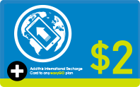 International Recharge $2