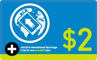 International Recharge $2