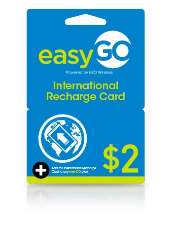 International Top up $2.00