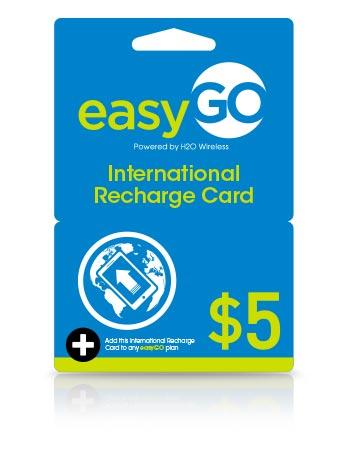 International Top up $5.00